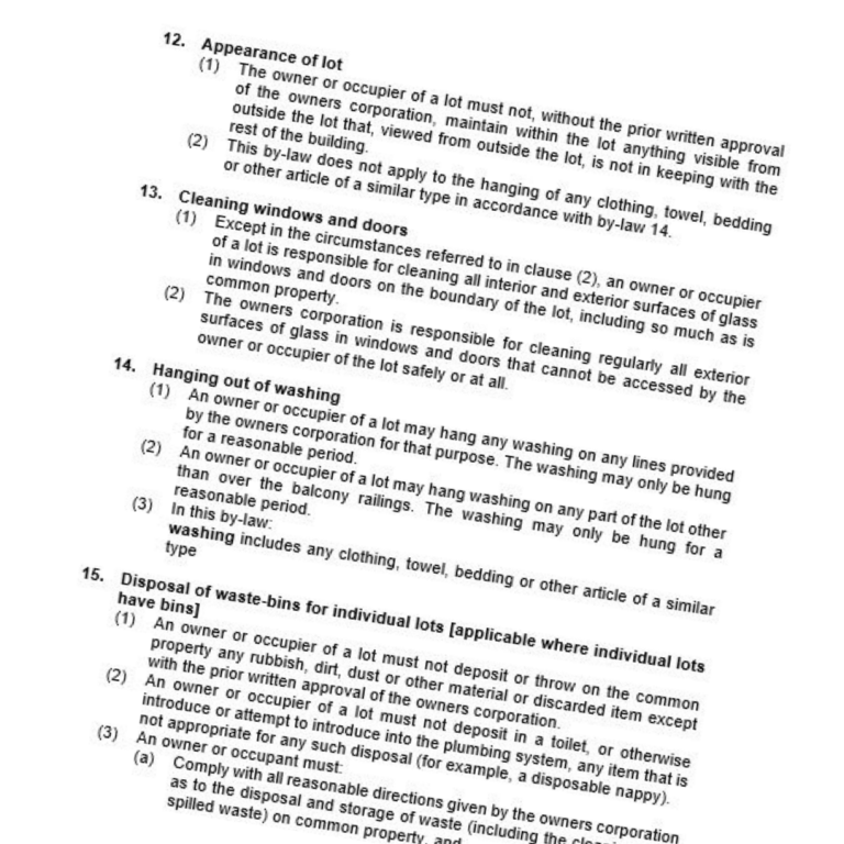 consolidation of bylaws